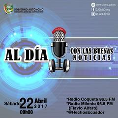 Listo el programa radial municipal Al Día con la Buenas Noticias