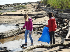 Lackey HS River Cleanup