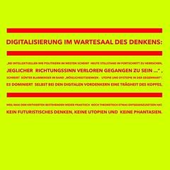 Digitalisierung im Wartesaal des Denkens http://www.netzpiloten.de/gewaltenteilung-maschinenwelt-utopien/