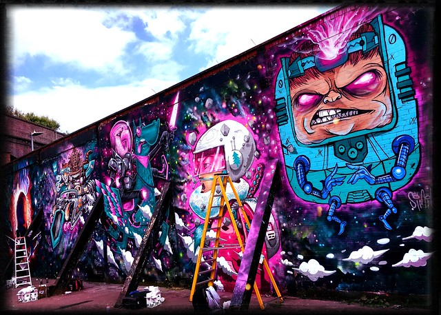 Street Art, Birmingham City Of Colours 2016