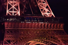 Eiffel Tower - Night Detail