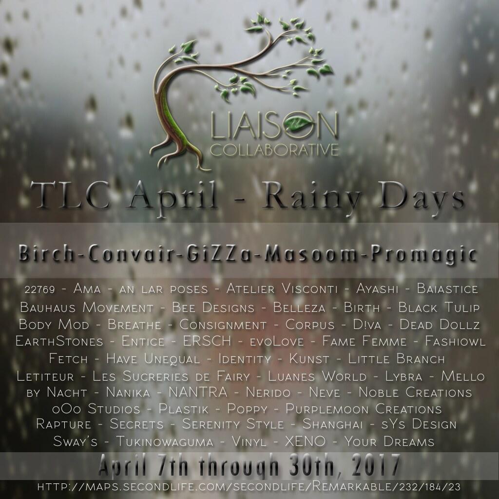 The Liaison Collaborative - Rainy Days - SecondLifeHub.com