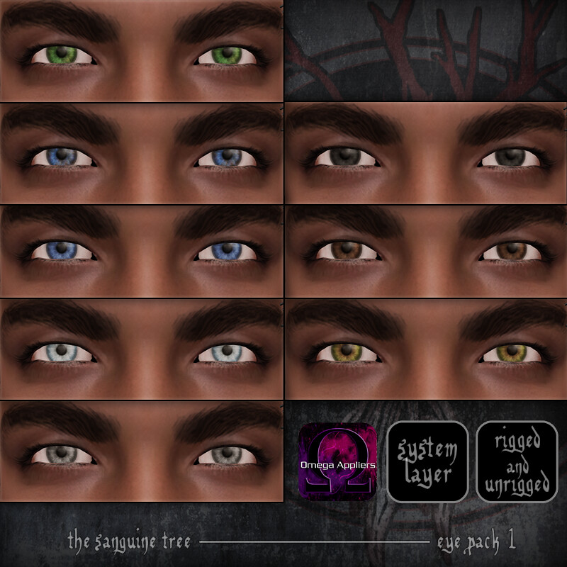 [ new release - eye pack 1 ] - SecondLifeHub.com