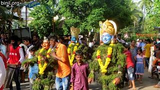 Thrissur Chelakkottukara Kummatti Kali 2