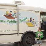 Bookmobile at Shawnee Elementary