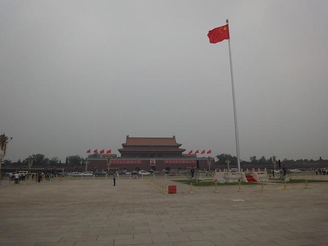 Place Tiananmen à Beijing