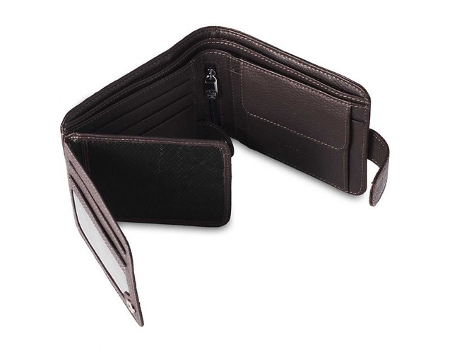 Men's leather wallet Dierhoff, collection - D 7145.