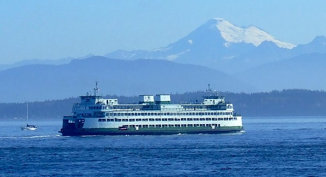 WA Ferry - The Issaquah - Mt. Baker