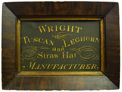 Wright Tuscan Leghorn and Straw Hat Manufacturer