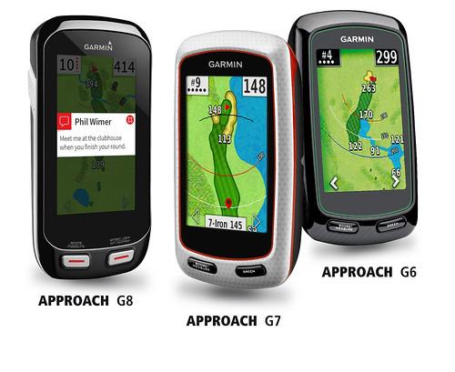 Golfové GPS navigace Garmin