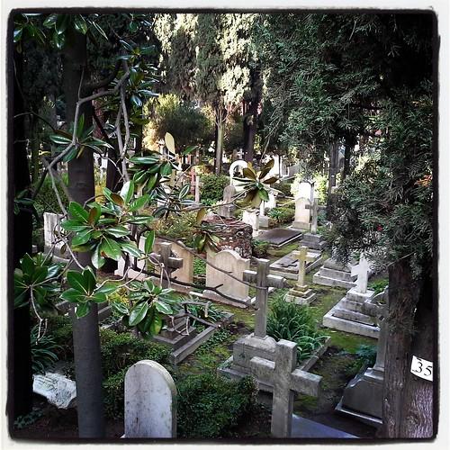 Roma: cimitero acattolico