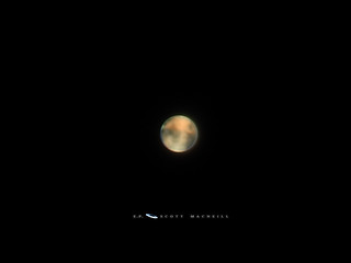 Mars on an Excellent Night