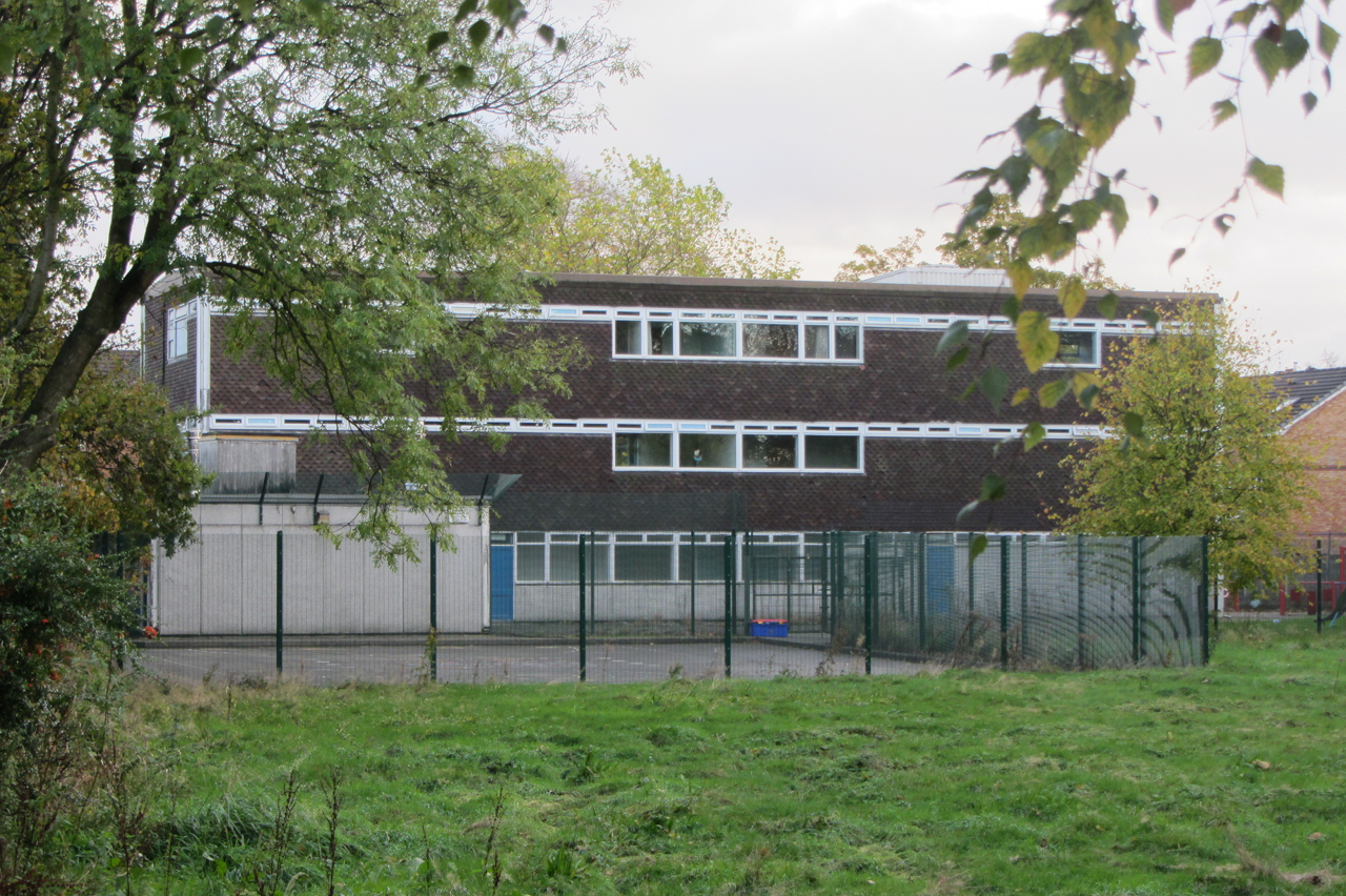 Ewing School, residential block