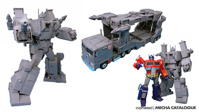 TRANSFORMERS Masterpiece MP-22 Ultra Magnus - Prototype Shots