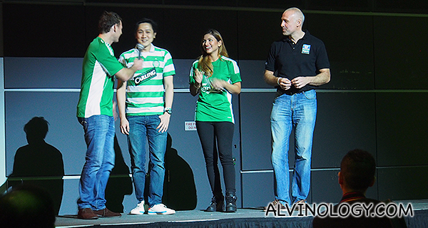 This lucky fan won a pair of tickets to the UK to catch a BPL match next season, courtesy of Carlsberg!