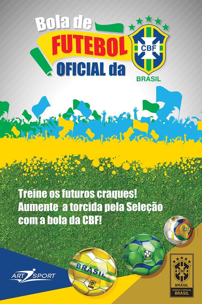Banner - Bola de Futebol Oficial da CBF