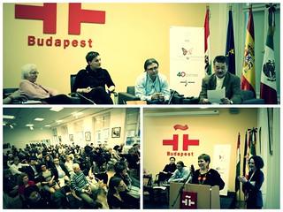 Presentación del primer tomo de las obras completas de Juan Rulfo en húngaro, en el Instituto Cervantes de Budapest