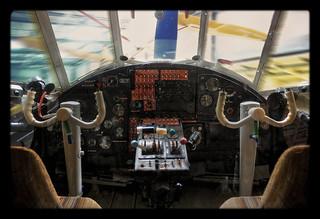 Laatzen Luftfahrtmuseum Hannover-Laatzen - Antonow An-2 R Cockpit