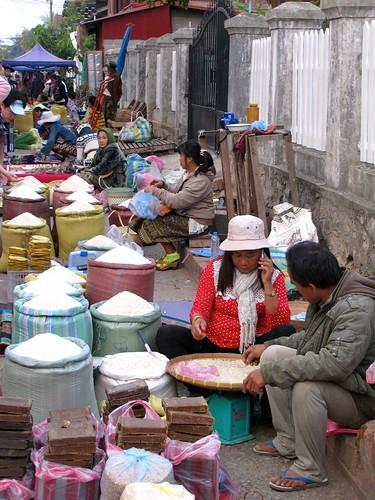 Vendedoras de arroz