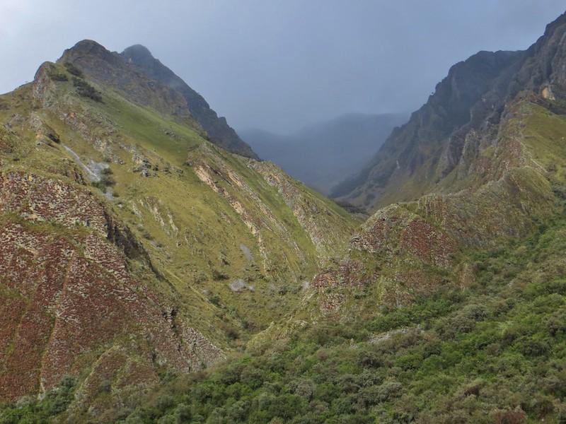 In Quebrada Rangracancha