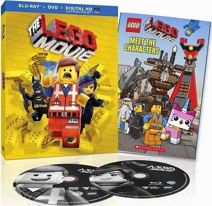 The LEGO Movie Blu-Ray w/Meet the Characters Book (Target Exclusive)