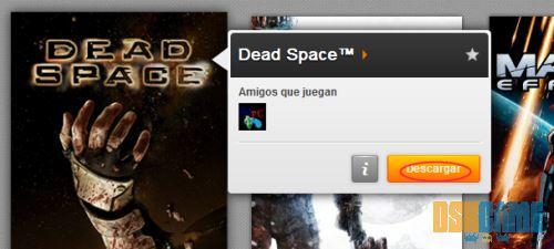 Dead Space botón