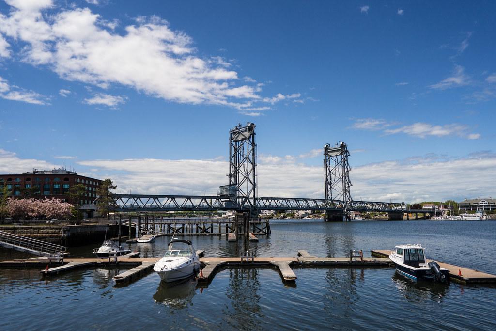 Beautiful Day on the Bridge