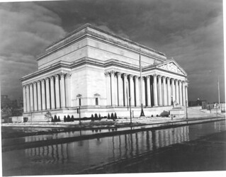 Photograph of the National Archives Building at the Corner of Constitution Avenue and 9th Street, 01/01/1936