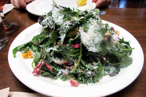 kale salad at Cook's County LA