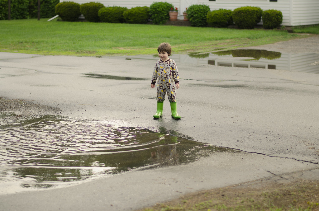 short story // puddle jumping 1