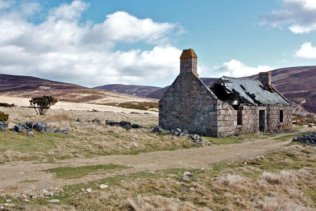 Ruin in Glen Fenzie