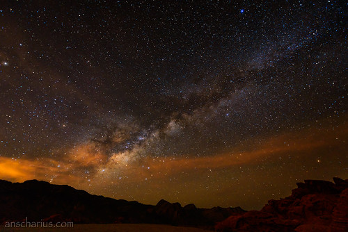 Milkyway over Valley of Fire #2