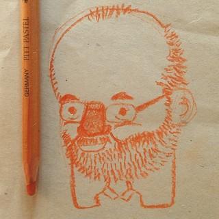 Bob Hoskins (1942 - 2014) • #RIP #BobHoskins #actor #doodle #sketch #boceto #numeritos