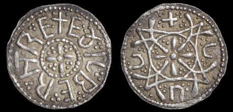 Silver Penny of Aethelberht