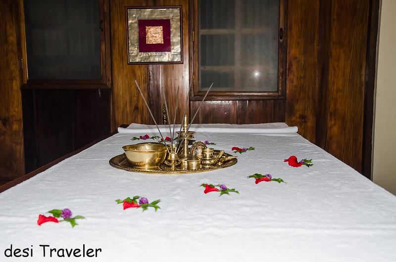 Kerala Ayurveda Massage Room