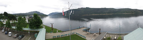 panorama canada up vancouver port island canal bc waterfront view vancouverisland alberni