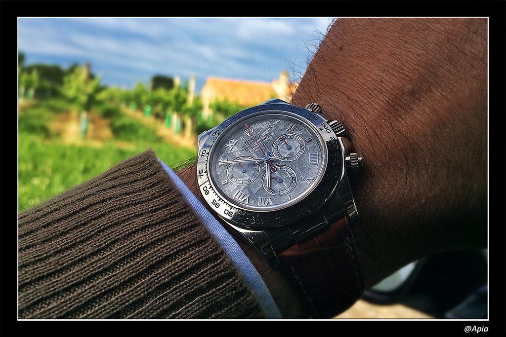 Daytona - [Revue] Rolex Daytona 116519 cadran Météorite ... alias Inespérée ;) 14089608167_d669b22d9d_b