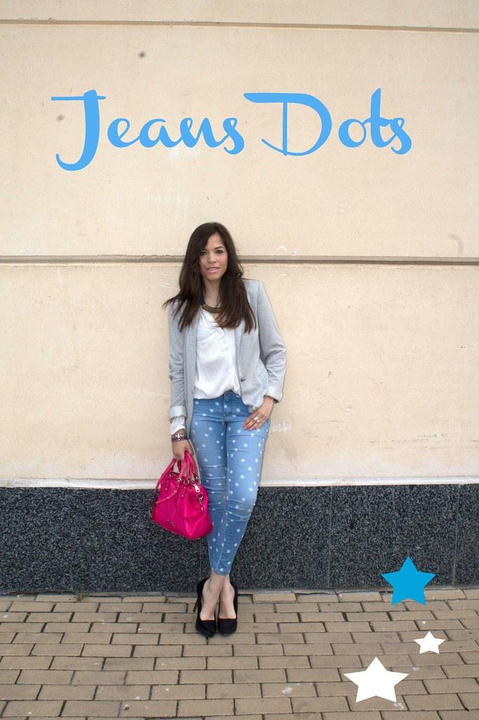 jeans dots
