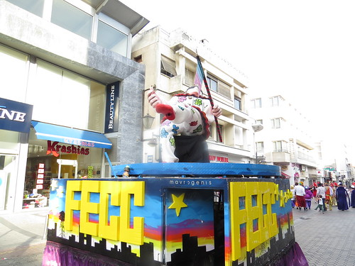 FECC Carnival Cities Parade Limassol Cyprus May 2014 10