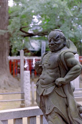 仁王像(吽形)/the guardian