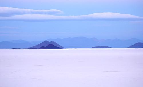 trip travel blue cloud white mountain lake nature silhouette contrast canon landscape dawn view desert salt bolivia relief andes forms shape cordillera altiplano uyuni salardeuyuni clicheforu christianpetit atmosphericsalardeuyuni