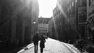 Morningsun in Copenhagen