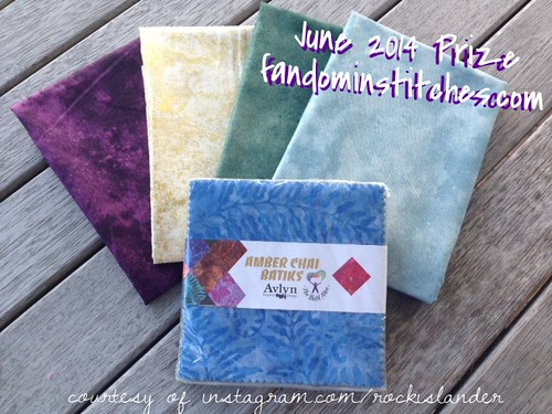 June 2014 Fandom In Stitches Flickr Prize
