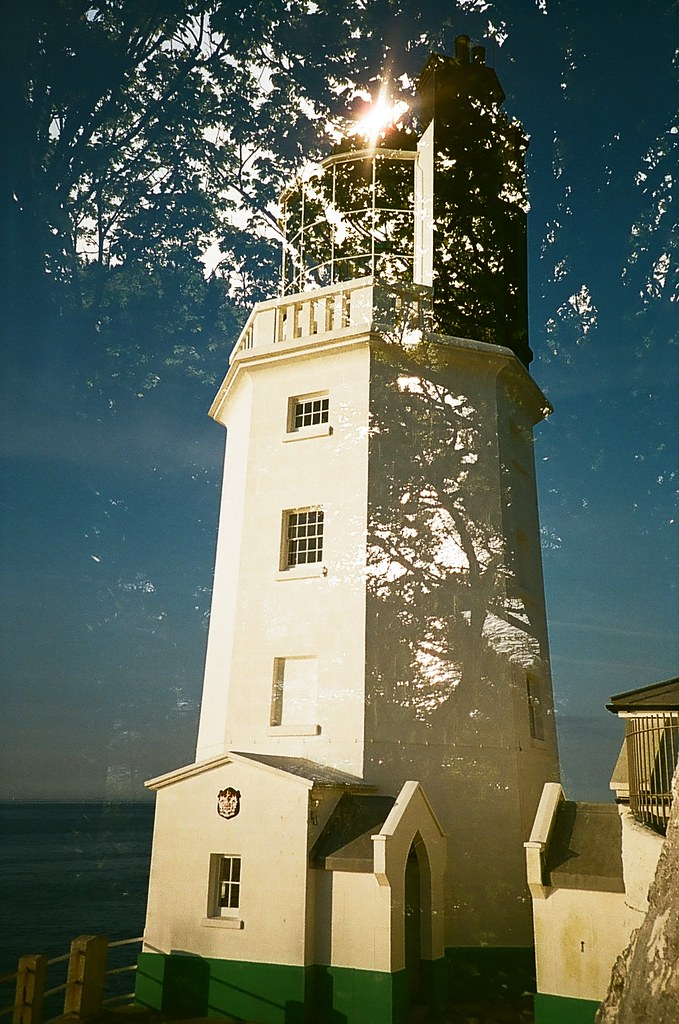 St Antony's Light House Multiple Exposure