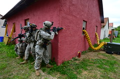 Albanian, U.S. forces at Combined Resolve II