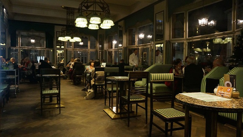 Prague: Grand Cafe Orient, A Cool Cubist Cafe