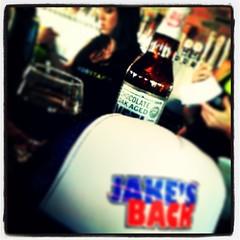 Chocolate Oak Aged Yeti #jakesback #coloradobeer #imperialstout #greatdivide #craftbeer #beer #ilovebeer #beerlove @wobarlingtontx   Congratulations and welcome back Jake!