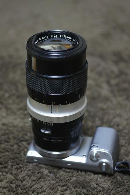 2014年を振り返る NIKKOR-Q Auto 135mm F2.8