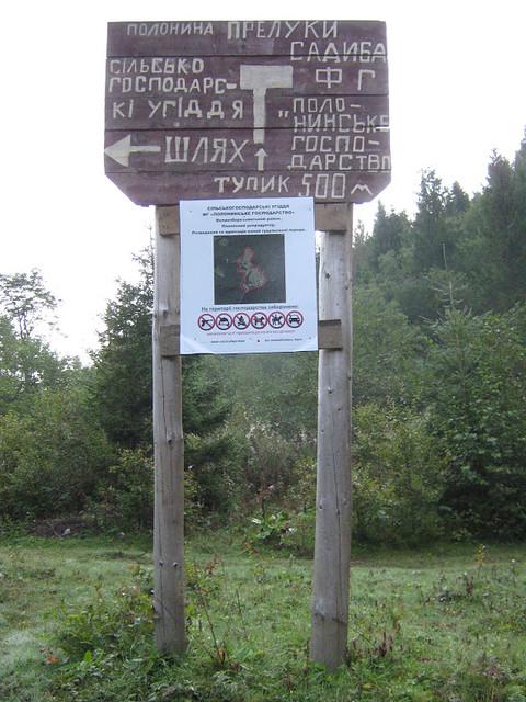 з полонини Руни на Воєводин