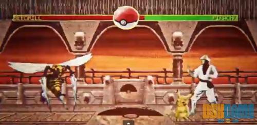 Batallas pokemon estilo Mortal Kombat